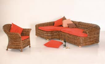 rattan outlet in f rth rattansofa schlafsofa als ecksofa set 115. Black Bedroom Furniture Sets. Home Design Ideas
